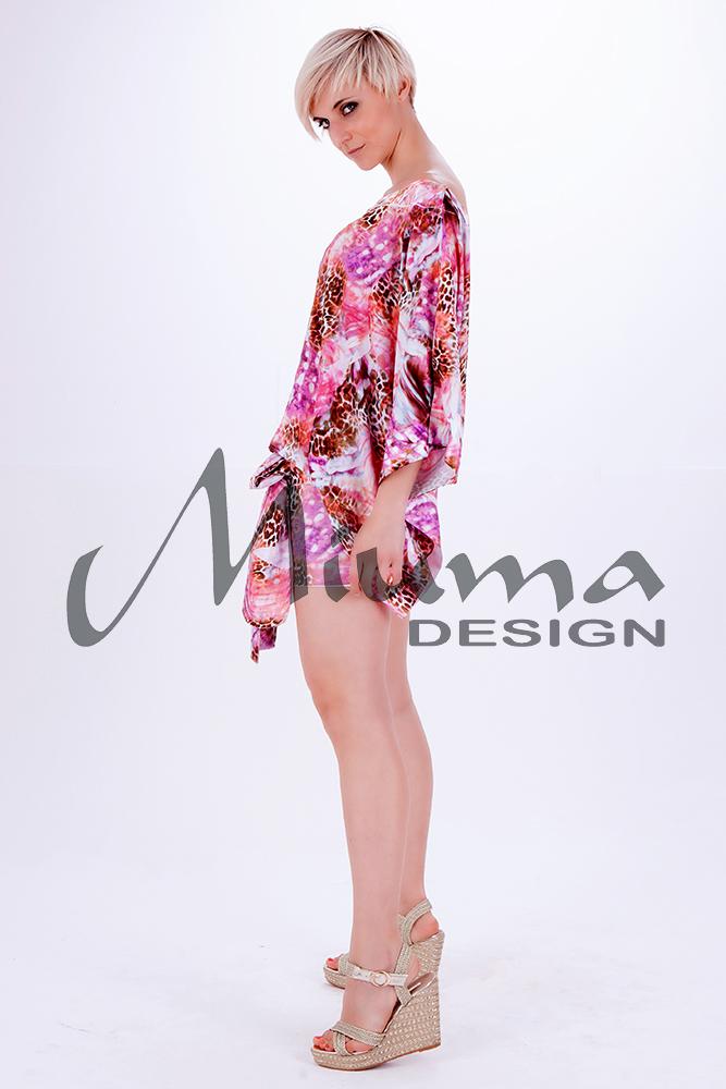 Vestido corto miuma lula f.l rosa 23-l