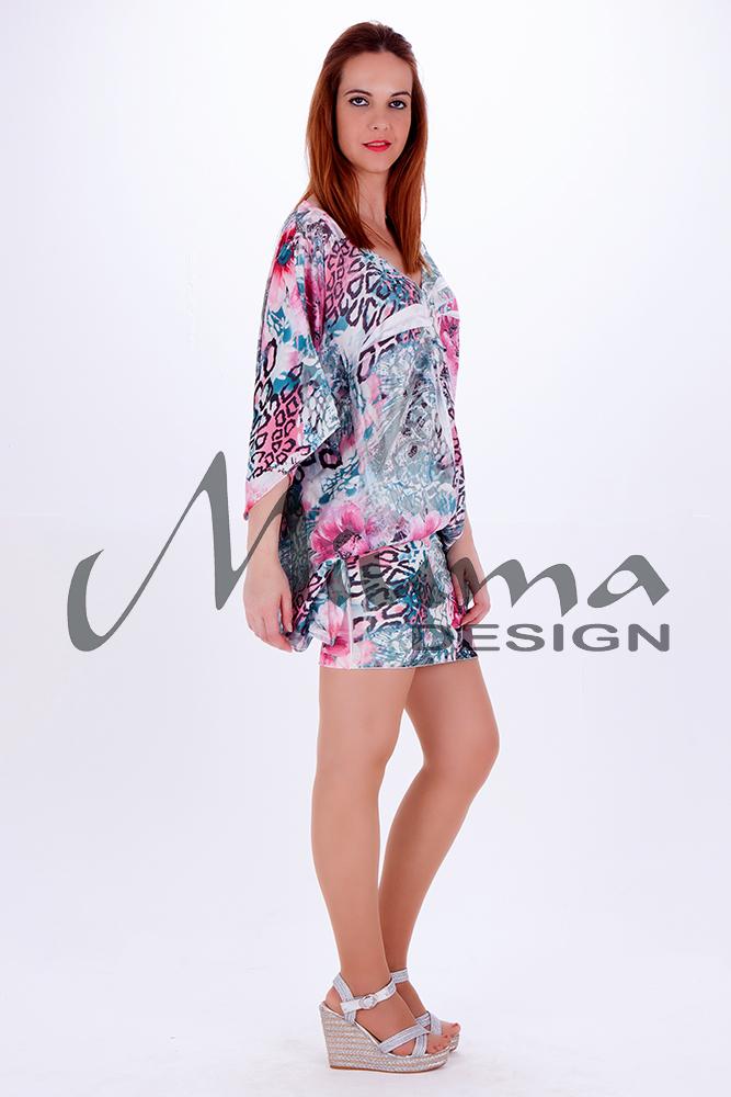 Vestido corto miuma vanina f.l azul 22-l