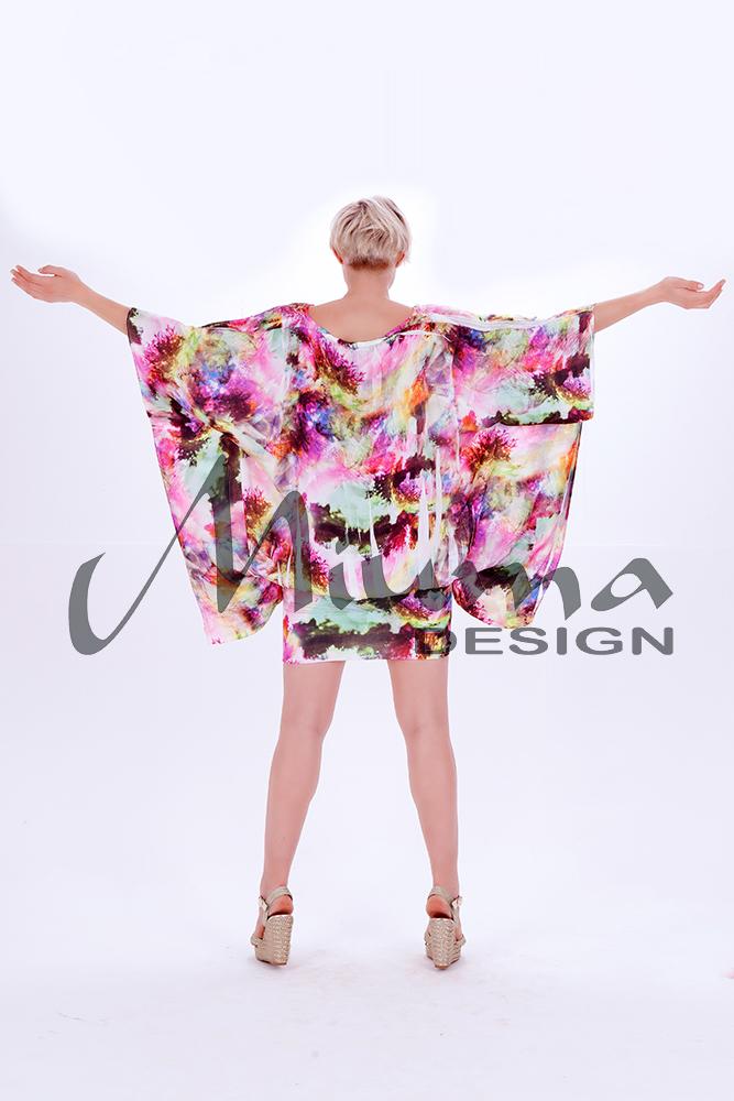 Vestido corto miuma vanina f.l rosa 1-e