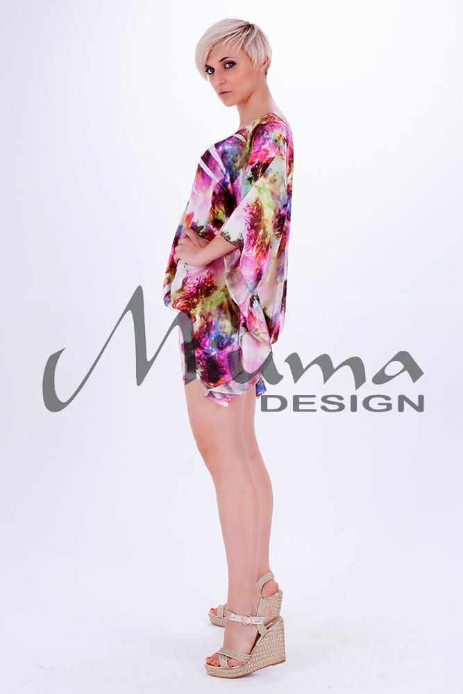 Vestido corto miuma vanina f.l rosa 1-l