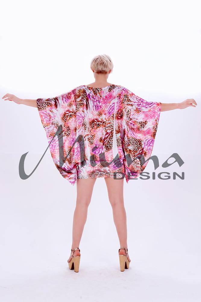 Vestido corto miuma vanina f.l rosa 23-e