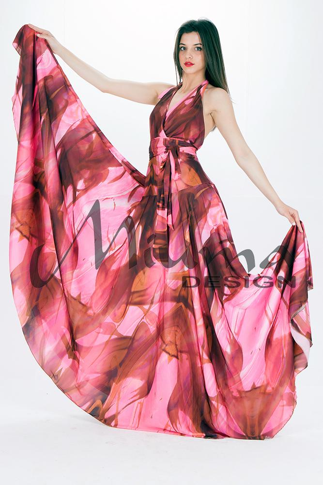 Vestido Largo Katya 16 Rosa 21 - Miuma Concept Shops Online